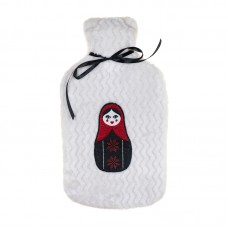 Large Blanket and Hot Water Bottle Set