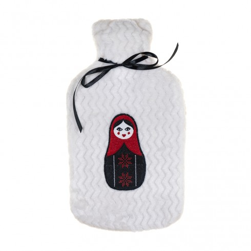 Small Blanket and Hot Water Bottle Set