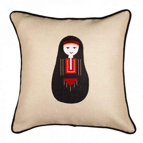 Bedouin Woman Cushion Cover