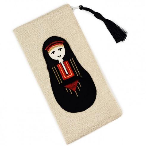 Bedouin Woman Pencil Case