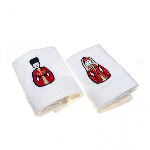 Circassian Set Hand Towels