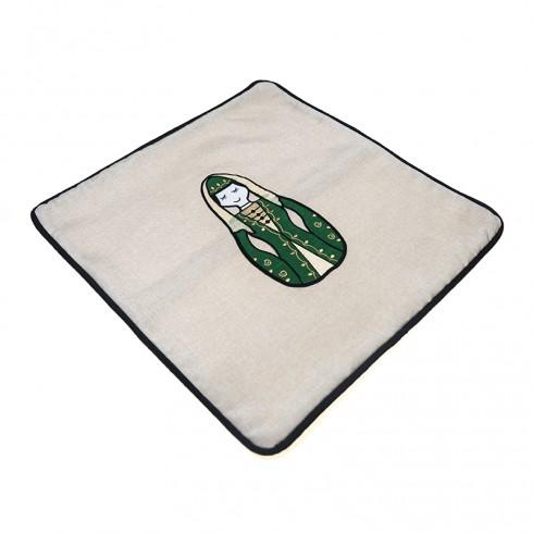 Circassian Woman Cushion Cover