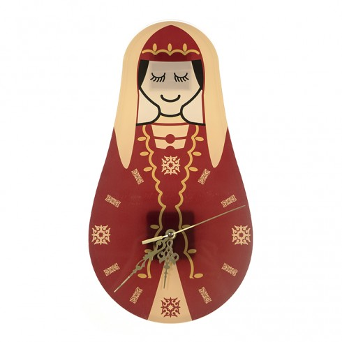 Circassian Woman Wall Clock