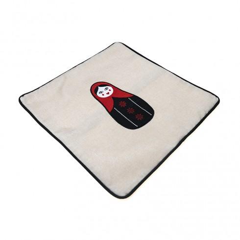 Jordanian Woman Cushion Cover