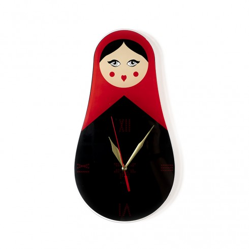 Jordanian Woman Wall Clock